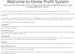 Home Profit System Scam Legit