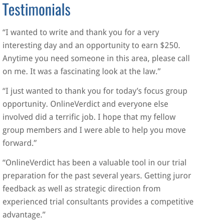 Online Verdict Jobs