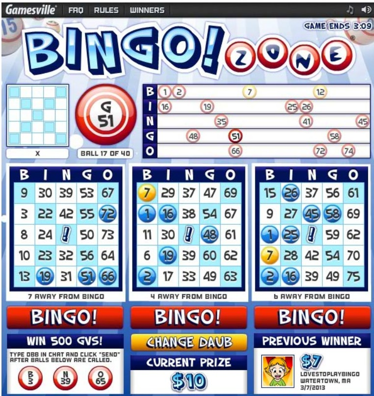 How Does Bingo Zone Work