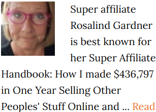 Rosalind Gardner Reviews