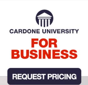 Grant Cardone University Cost