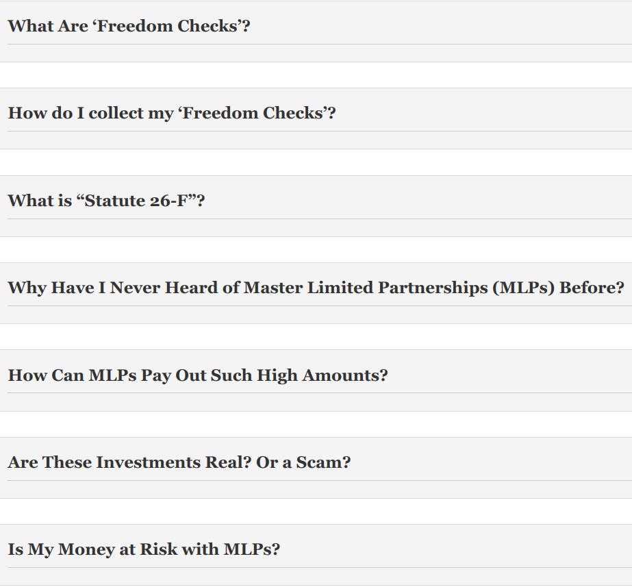 Is Freedom Checks Legit