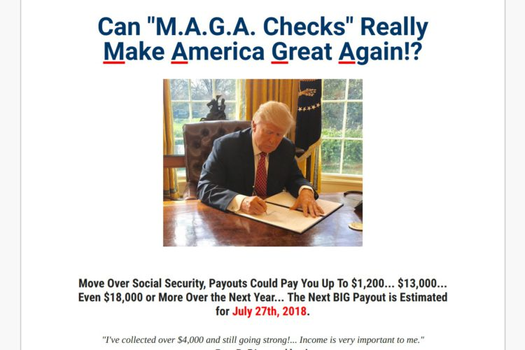Maga Checks Scam or Legit