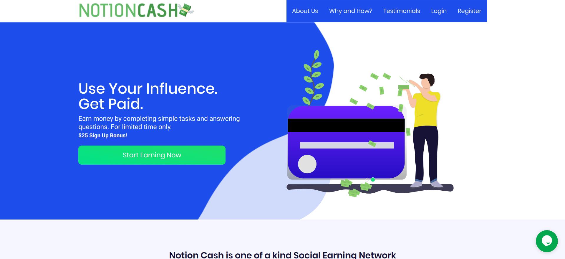 Notion Cash Scam or Legit