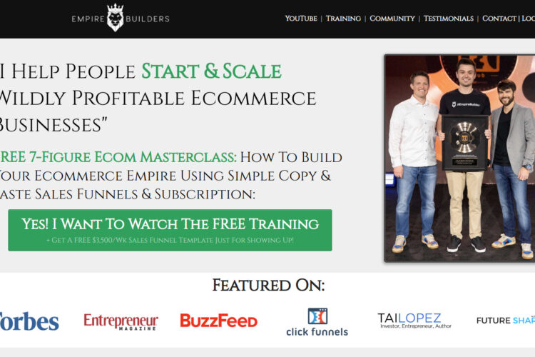 Is Ecommerce Empire Builders a Scam or Legit