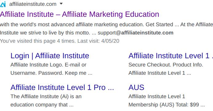 The Affiliate Institute Review