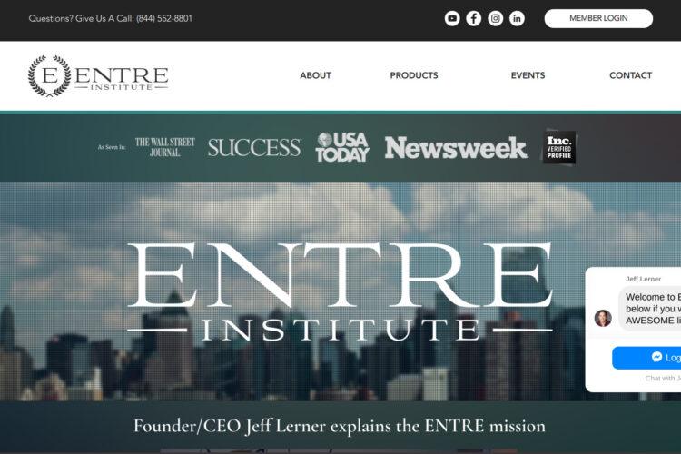 Is Entre Institute a Scam or Legit