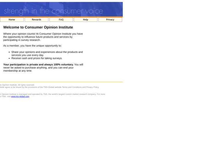 Is Consumer Opinion Institute a Scam or Legit