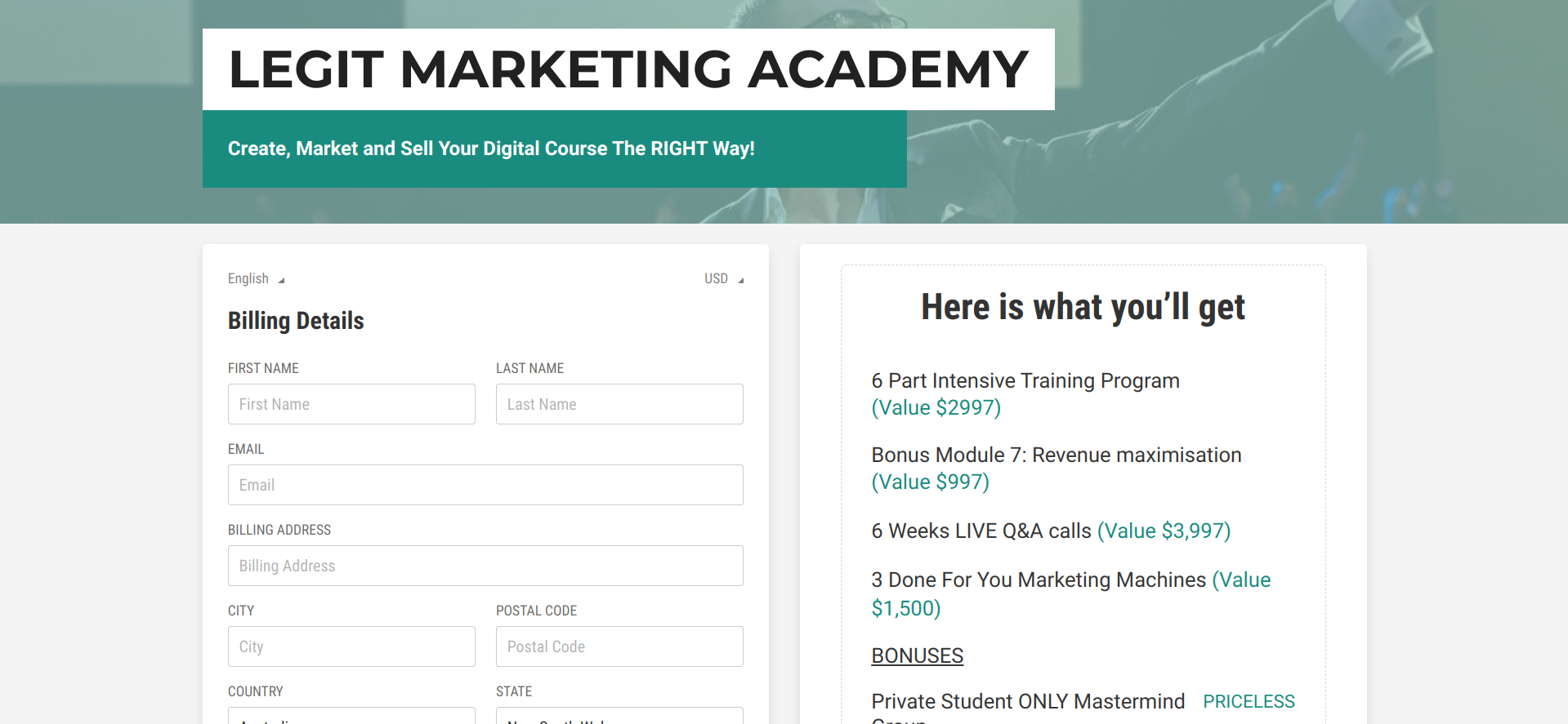 Is Jon Penberthy's Legit Marketing Academy a Scam or Legit
