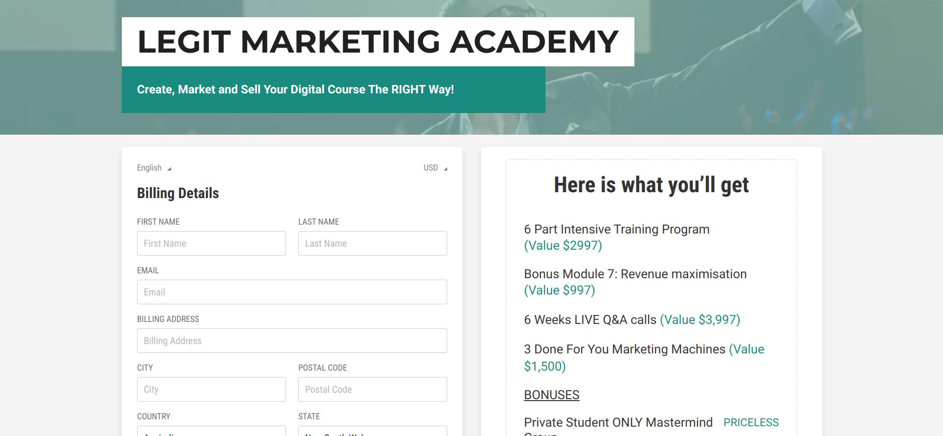 Is Jon Penberthy's Legit Marketing Academy a Scam or Legit