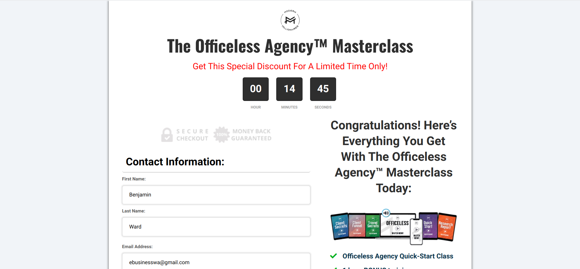 Is Officeless Agency Masterclass a Scam or Legit