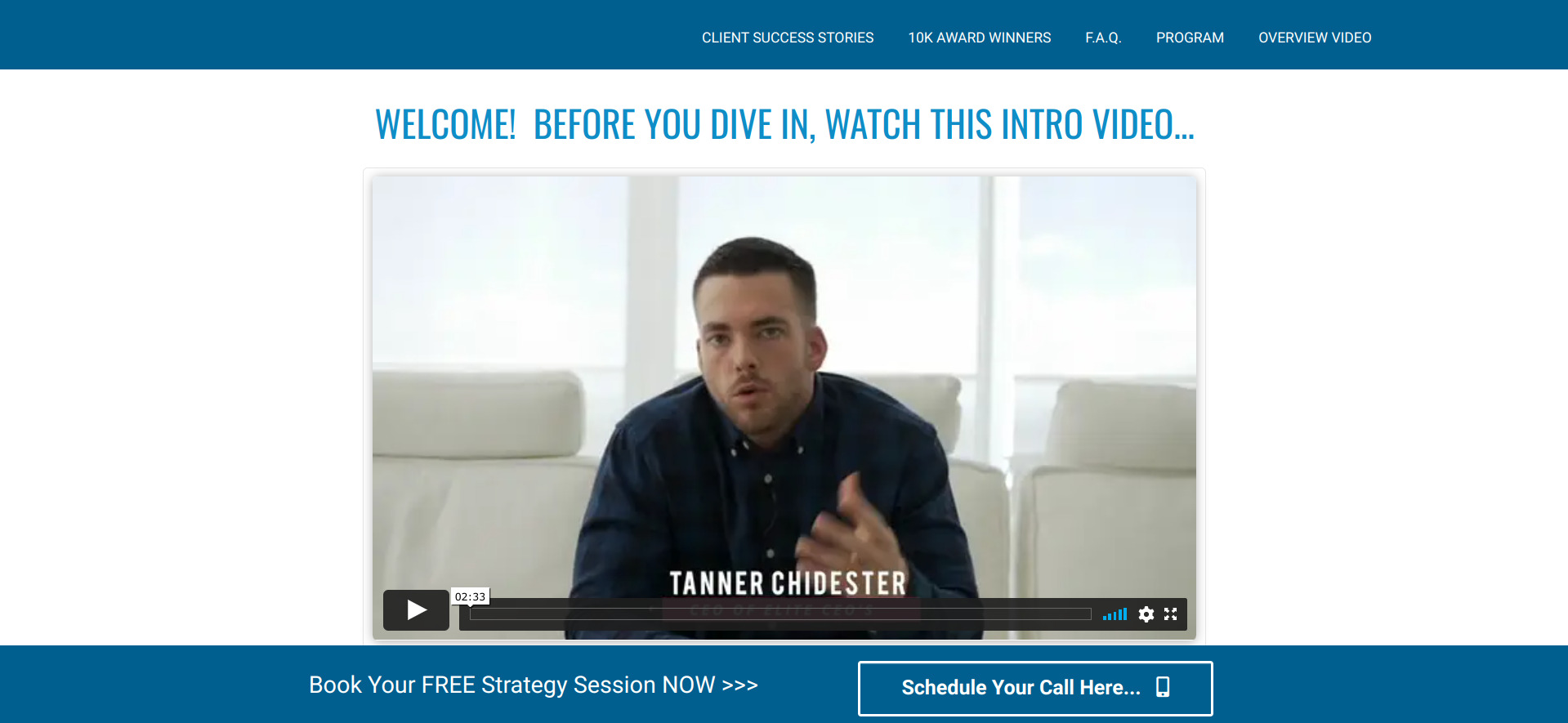 Is Tanner Chidester Elite CEOS a Scam or Legit