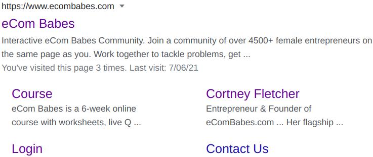 eCom Babes