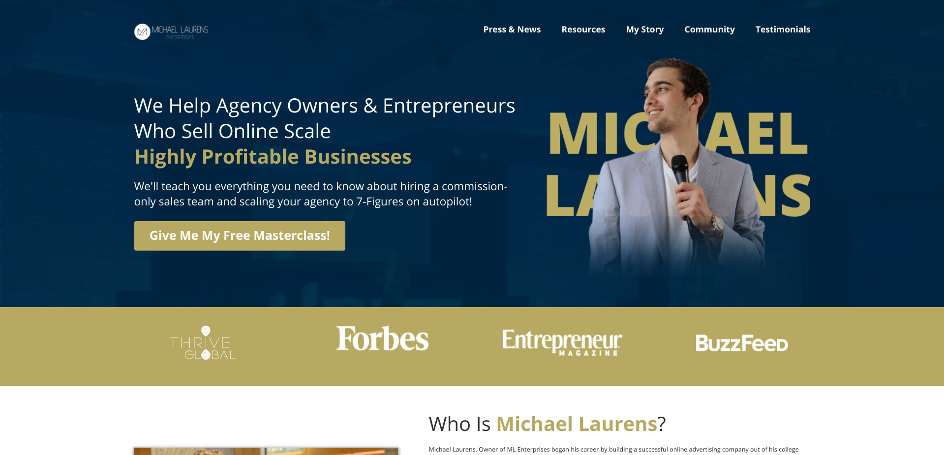 Is Michael Laurens a Scam or Legit